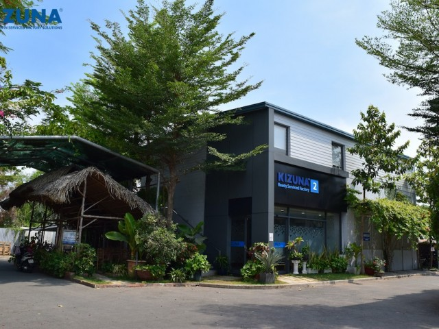 Kizuna provides small workshop to rent near HCMC at a good price