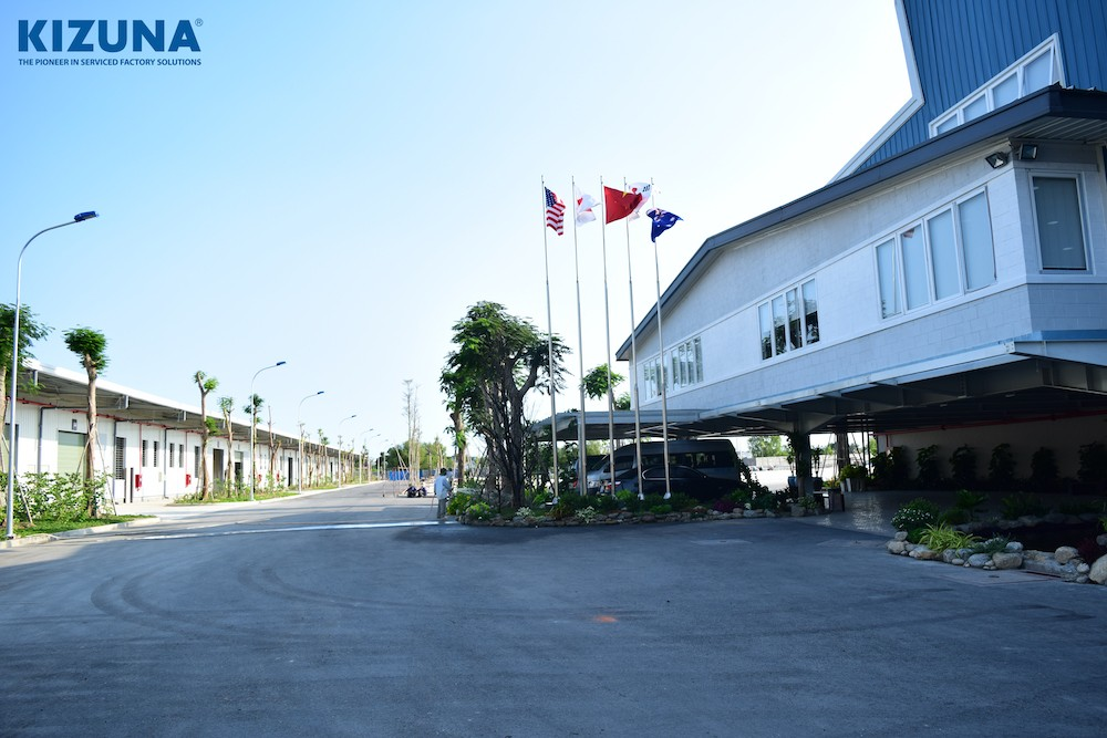 factory for rent in vietnam kizuna