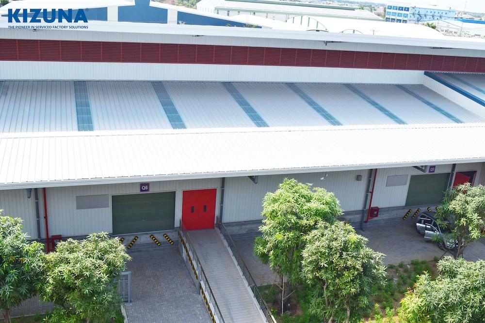 1000m2 factory for rent kizuna