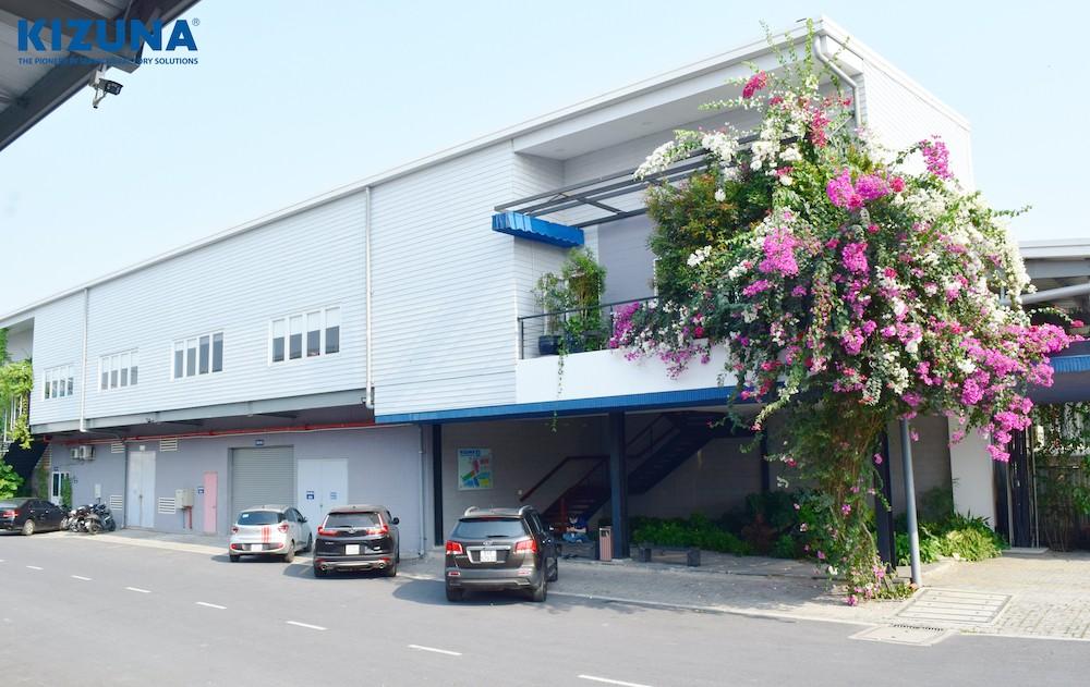 nhà xưởng khu công nghiệp kizuna