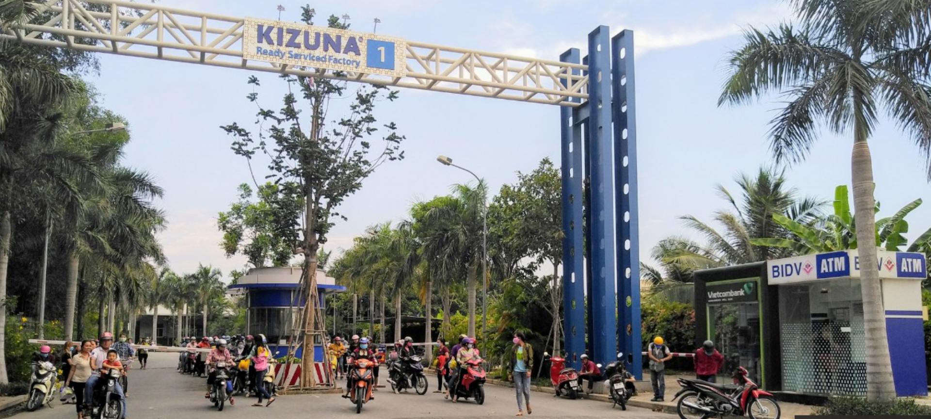 Cho thuê nhà xưởng tại Kizuna 1