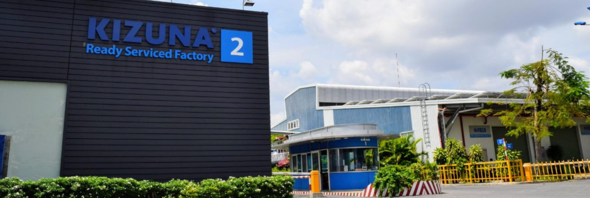 nhà xưởng sản xuất cho thuê kizuna 2