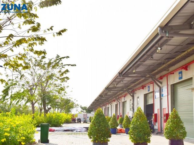 次の3つのサービスをサポートする工場を貸す会社を選択する